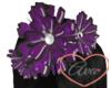 Flower Headband Purple