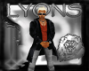 LYONS BLACK VAMP TRENCH