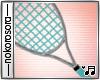 n. Tennis Girl Racquet G