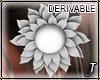 Jewel* Hair Flower