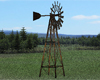 Old Rusted Windmill