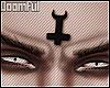 ♆  Horned Cross  ♆