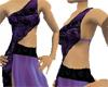 Indian Sari-Purple/Black