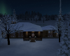 (AA) Snowy Winter Cabin