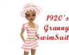 1920's Granny SwimSuit