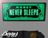 MONEY NEVER SLEEPS ART