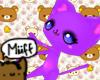 |m| Leg Kitty (pastel)