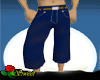 Long Navy Blue Shorts