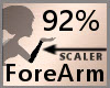 Scale ForeArm 92% F A