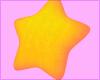star pillow ★ orange