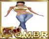 QMBR TBRD RLS Jeans Gld