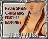 ! Christmas Earrings