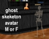 Ghost Skeleton M or F