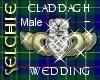 *S Claddagh Wedding M