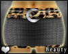 [B] Cheetah skirt
