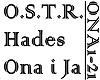 O.S.T.R. - ONA I JA