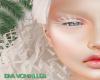 albino eyelashes