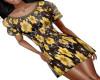 Yellow Flower Skirt/Top