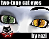 Green & Yellow Cat Eyes