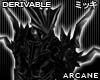 ! Goth Arcane Pauldrons