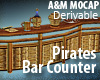Pirates Bar Counter