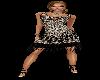 Black Lace Flapper Dress