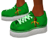 Child Green Alex Sneaker