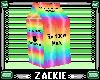 rainbow milk carton