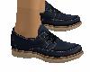 zapato caballero azul