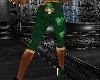 ATS~St Patty Skull Capri