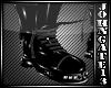 - Iron Cross PvC Boots -