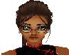 [bdtt]Wire Glasses7 Blck