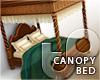 TP Canopy Bed - Oaken