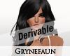 Derivable long hair 10