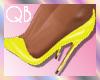 Q~*Yellow Heels*