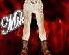 !!Mik!Cream pants&boots