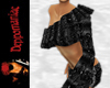Sharona Top/Shorts BLK