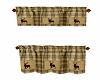 Cabin Kitchen Curtains