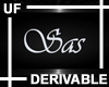 UF Derivable Sas Sign