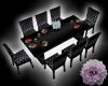 -Black Dinning Table