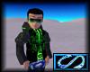 [S] Electro Jacket Green