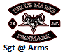 Hells Mark Sgt @ Arms M