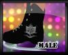 (M) DA Black Skates (M)