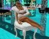 White chair cuddles