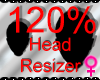 *M* Head Resizer 120%