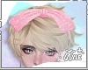 Pink Glitter Bow M/F