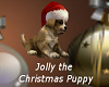 Jolly Christmas Puppy