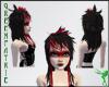 GF-Red Black Emiko Hair