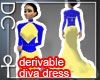 [DC] Diva Dress derivabl