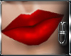 *DR* Red Lips Pia Head